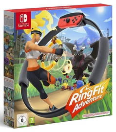 Игра Nintendo Switch Ring Fit Adventure incl. Leg Strap and Ring-Con SWITCH