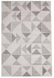 Ковер Evelekt Lotto 2, белый/серый, 190 см x 133 см