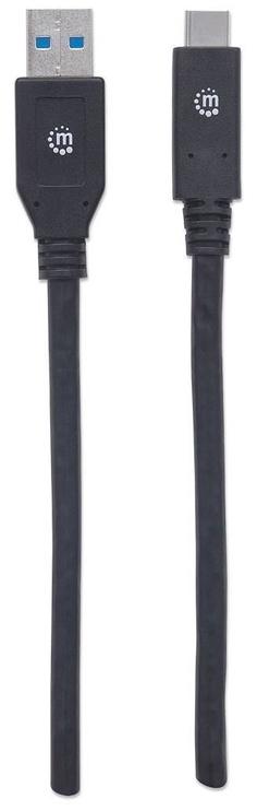 Manhattan USB To USB Type-C Black 3m