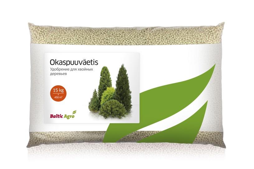 Trąšos spygliuočiams ir visžaliams augalams Baltic Agro, 15 kg