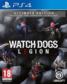 Watch Dogs Legion Ultimate Edition Incl. Season Pass And Ultimate Pack PS4