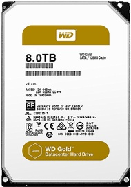Western Digital Gold Enterprise 8TB 7200RPM 256MB WD8003FRYZ