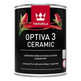 Tikkurila Optiva Ceramic Super Matt 3 BA 0.9l White