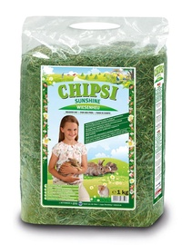 Šienas smulkiems gyvūnams Chipsi Meadow Hay, 1 kg