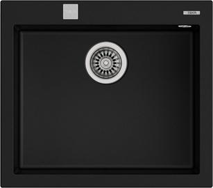 Teka Forsquare 50.40 TG Sink Black