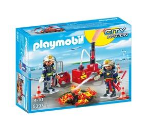 Konstruktor Playmobil tuletõrjuja