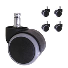 Home4you Rubber Wheels D50mm 5pcs