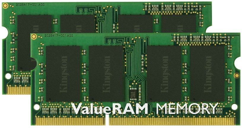 Kingston 16GB DDR3 PC3-12800 CL11 SO-DIMM KIT OF 2 KVR16S11K2/16