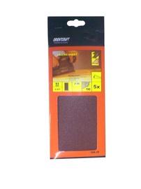 Keturkampis šlifavimo lapelis Vagner SDH 108.30, Nr. 80, 230x93 mm, 5 vnt.