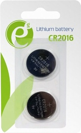 Energenie Button Cell CR2016 3V 2-Pack EG-BA-CR2016-01