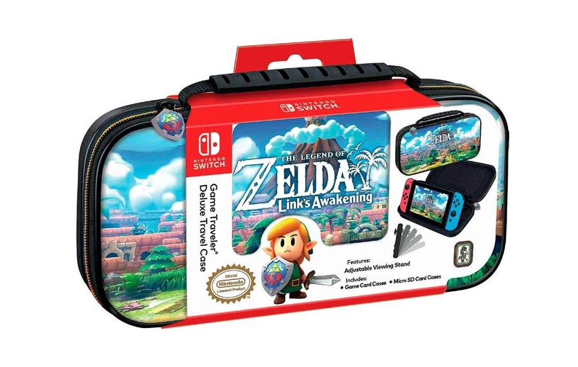 Nintendo Game Traveler Deluxe Travel Case The Legend of Zelda Link's Awakening