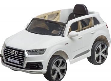 Rotaļlieta elektro auto Audi Q7, 12v, balts