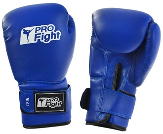ProFight Skin Dragon Boxing Gloves Blue 12oz
