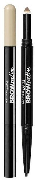 Uzacu zīmulis Maybelline Brow Satin Duo 00, 10 g