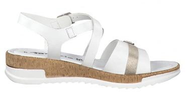 Tamaris Sandal 1-1-28215-22 White Combination 39