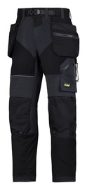 Trousers Snickers Flexiwork, black, 50