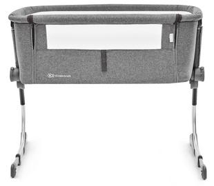 Vaikiška lova KinderKraft Uno 2-In-1 Grey, 93x68 cm