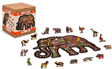 3D пазл Wooden City Magic elephant HE0037-L, 245 шт.