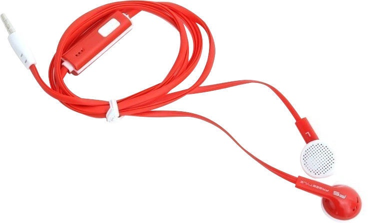 Omega Freestyle FH1020 Earbuds Red