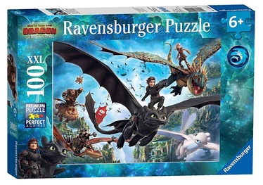Ravensburger XXL Puzzle How To Train Your Dragon 100pcs 10955