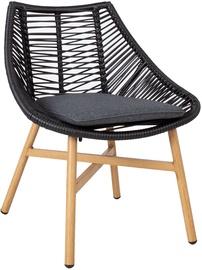 Home4you Helsinki Garden Chair Black