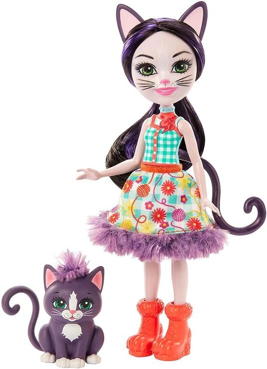 Кукла Mattel Enchantimals Ciesta Cat & Climber GJX40