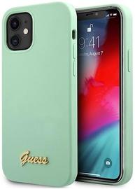 Чехол Guess GUHCP12SLSLMGGN, зеленый, 5.4 ″