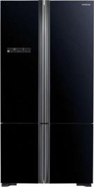 Šaldytuvas Hitachi R-WB800PRU5 (GBK) Glass Black