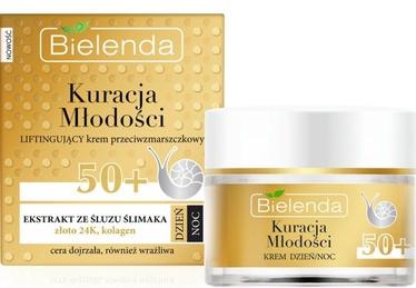 Veido kremas Bielenda Youth Therapy Regenerating Anti Wrinkle 50+ Cream, 50 ml