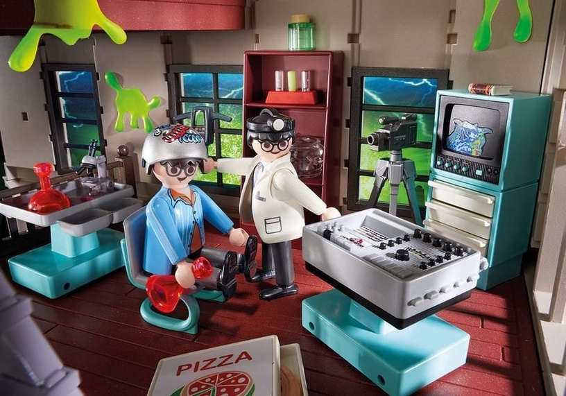 Playmobil Ghostbusters Firehouse 9219