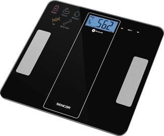 Kūno svarstyklės Sencor SBS 8000 Black