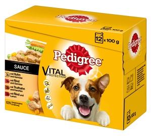 Влажный корм для собак Pedigree Vital Protection Adult, 0.100 кг