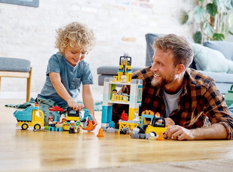 Конструктор LEGO® Town 10933 Башенный кран на стройке