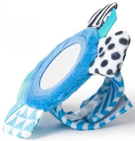 Canpol Babies Rustling Plush Wrist Toy Zig Zag Blue 68/056