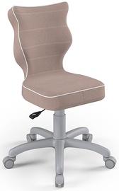 Детский стул Entelo Petit Size 3 JS08, серый/кремовый, 300 мм x 775 мм