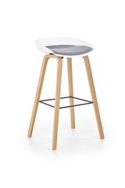Baro kėdė H86, pilka/balta