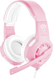 Žaidimų ausinės Trust GXT 310 Pink