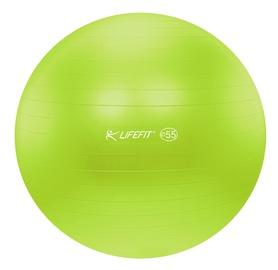 Gimnastikos kamuolys 55cm žalias