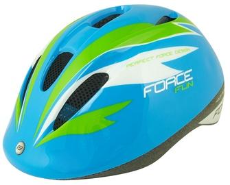 Шлем Force Fun Stripes F9022454, синий/желтый/зеленый, M, 520 - 560 мм