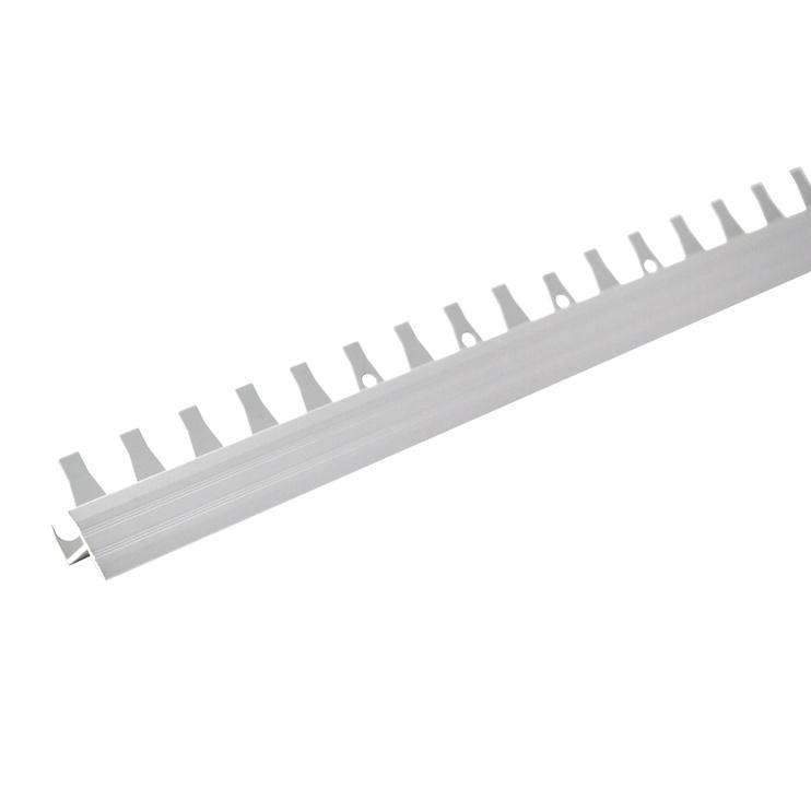 Jungiamoji juosta Grace A10G, sidabro spalvos, 1,6 x 1 x 270 cm