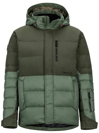 Marmot Mens Shadow Jacket Crocodile/Rosin Green L