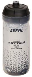 Велосипедная фляжка Zefal Artica 55 Drink Bottle Silver/Black 550ml