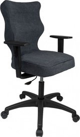 Entero Office Chair Duo AT04 Black/Navy Blue