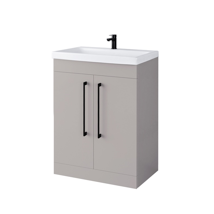 Domoletti SV 61-3 Bathroom Cabinet Grey