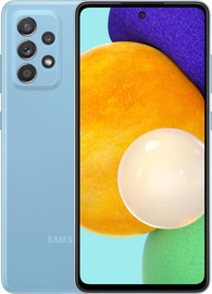 Mobilusis telefonas Samsung Galaxy A52 5G, mėlynas, 6GB/128GB