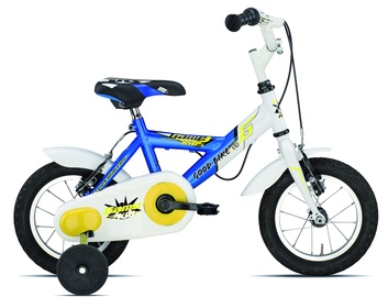 "Good Bike Game Kids 12"" White Blue 20"