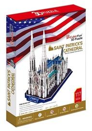 3D puzle Cubicfun Cathedral of Sts. Patrick 3D, 117 gab.
