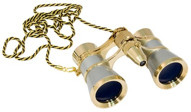 Levenhuk Broadway 325F Opera Glasses Silver