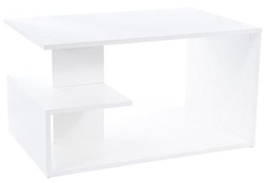 Kafijas galdiņš Signal Meble Santa, balta, 900x600x500 mm