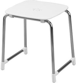 Gedy Prima Classe Shower Chair White/Chrome